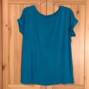 Tart Teal t-Shirt top large